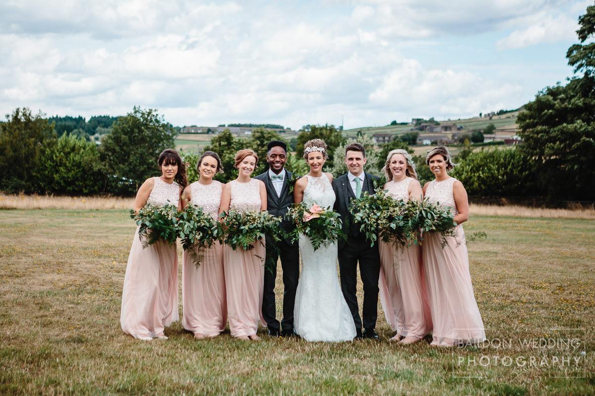 Bridal party Halifax wedding