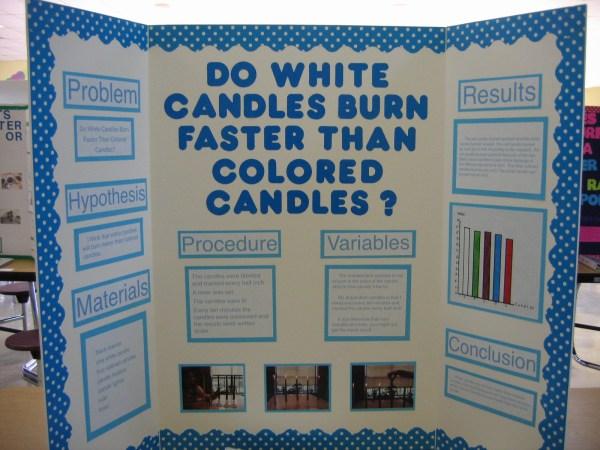 Baileyb Science Fair Poster Board