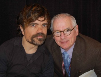 Robert with Peter Dinklage (Tyrion Lannister, Game of Thrones)