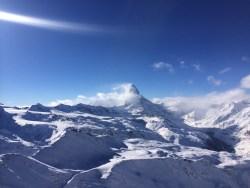 The Matterhorn in full spirit, Zermatt, Switzerland