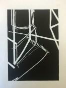 My first, very bold Lino print