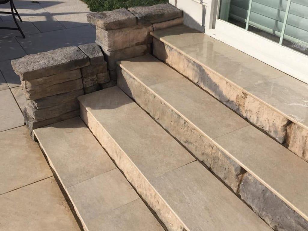 Outdoor Tile Steps