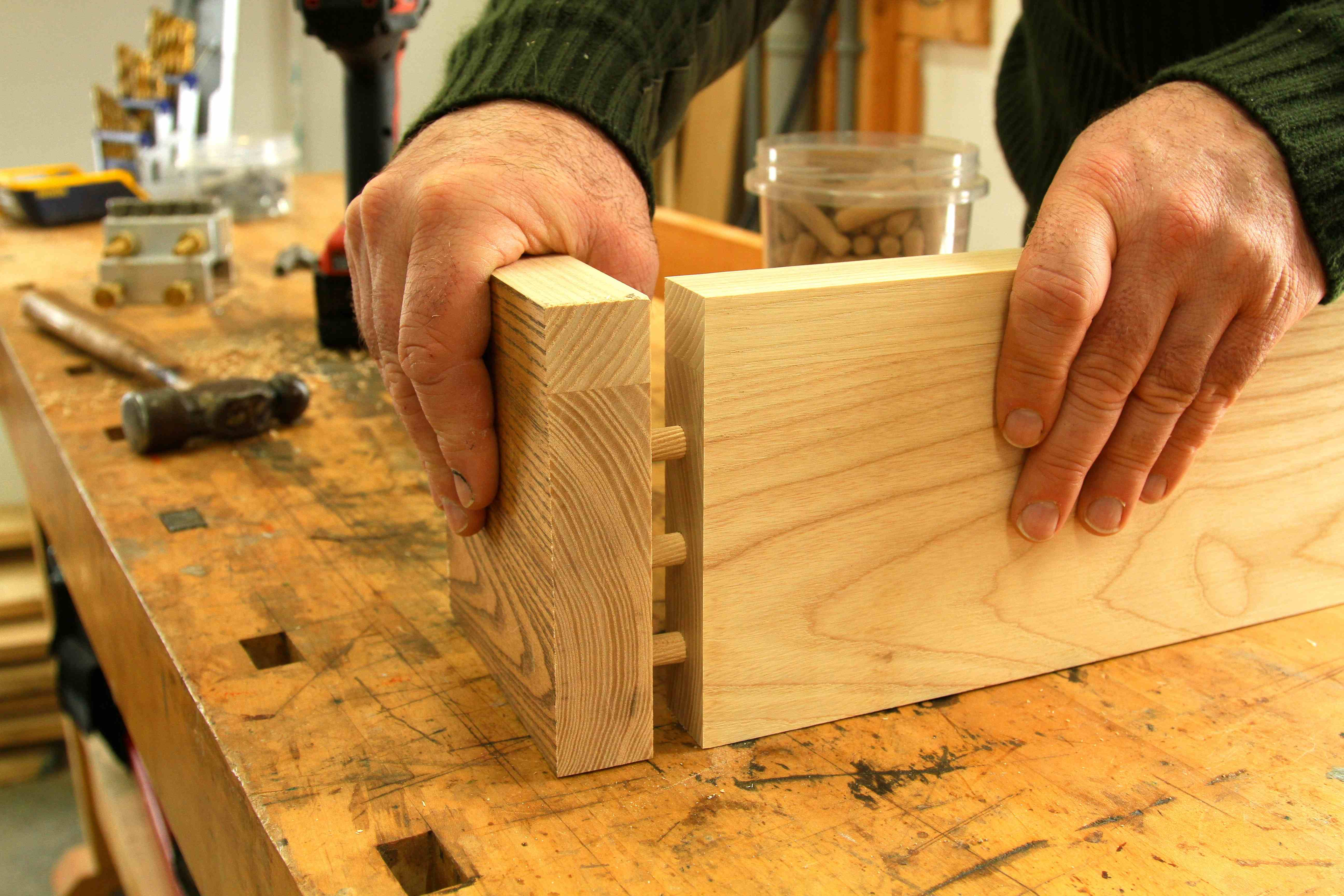 HOWTO Why You Should Love Dowel Joinery  baileylineroad