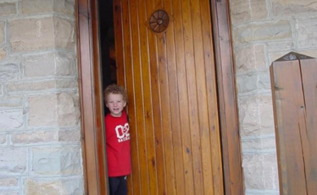 Building A Warm Exterior Door Baileylineroad