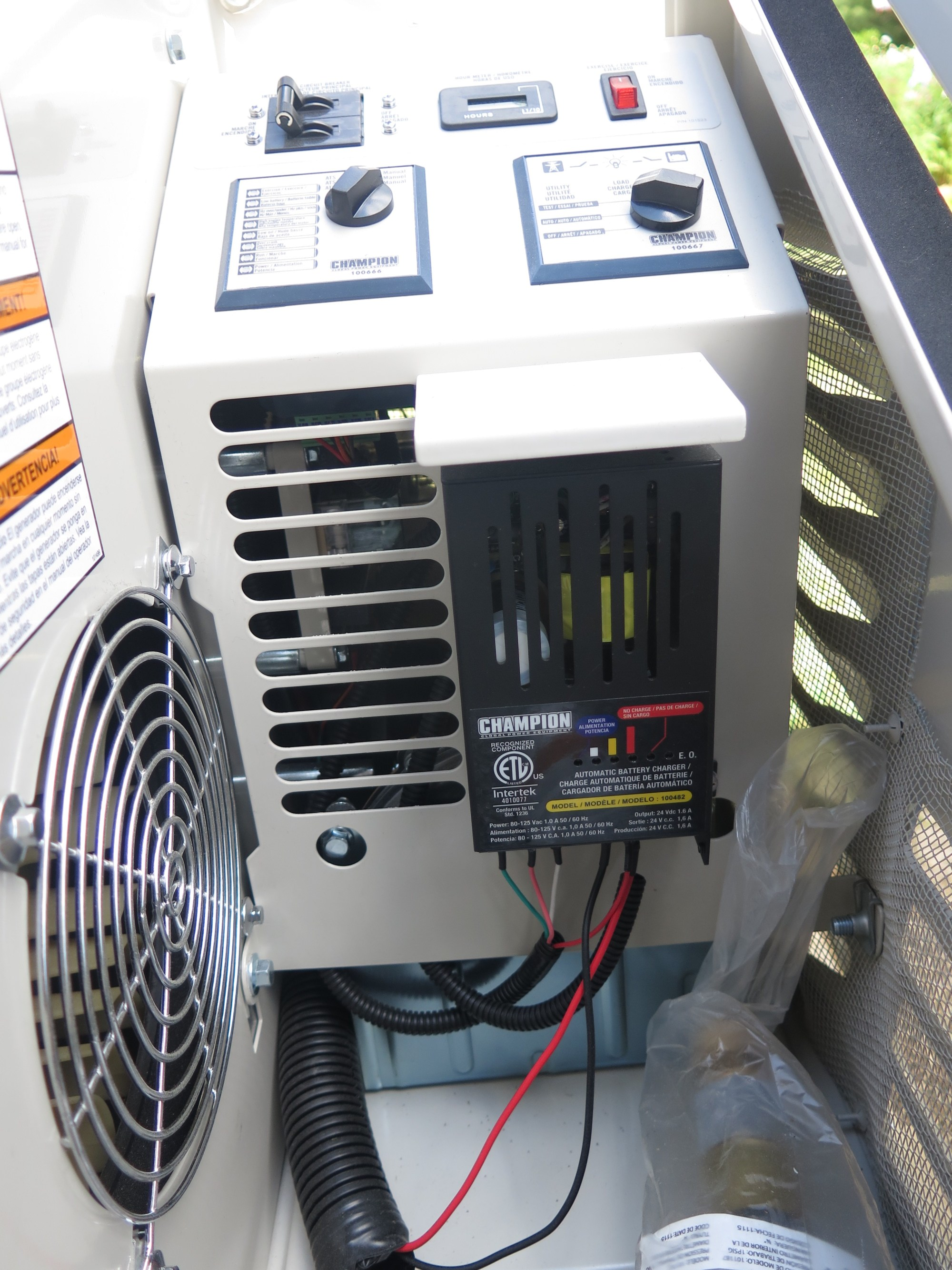 hight resolution of quality of electricity from home standby generators