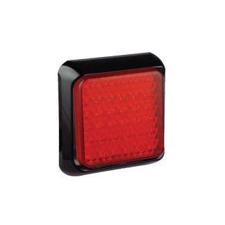 Square Rear Stop, Tail Lamp