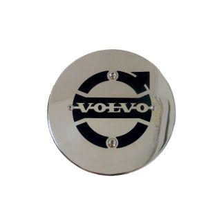 Stainless Steel Volvo Hub Covers