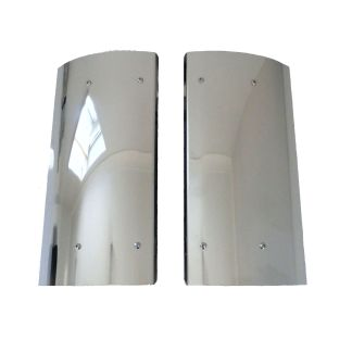 Stainless Steel Iveco Mirror Guards