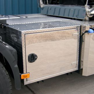 stainless steel toolboxes - made to order