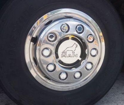 MAN Wheel Hub Cover