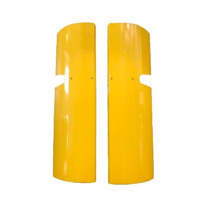 DAF LF Mirror Guards in Yellow