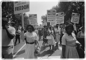 African American protest for equal rights, 1963