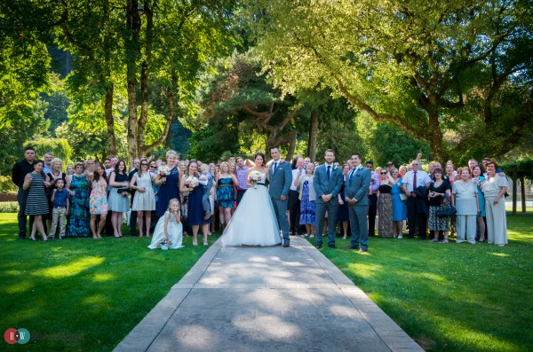 Wedding Party at Harrison Hot Springs