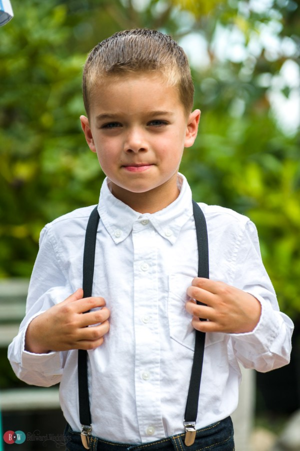... and most adorable ring bearer