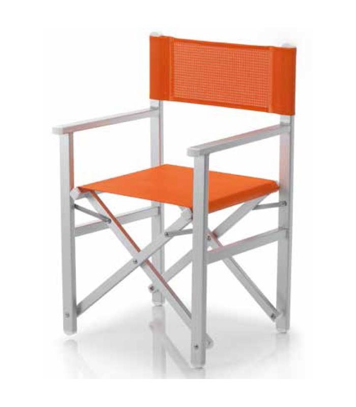 fauteuil metteur en scene aluminium