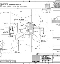 a proven design a version of a fender telecaster thinline semi hollow guitar there are lots of specific details as you can see in the plan below  [ 1224 x 794 Pixel ]