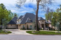 French Country Style Home Exterior