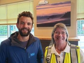 Flotilla Leads Tami Allen and Ben Doerr