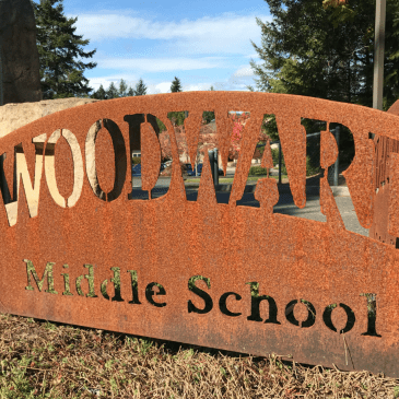 Woodward sign