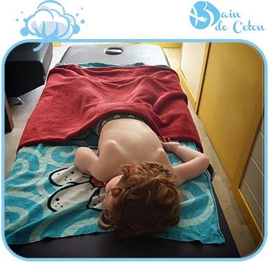 Massage bambin