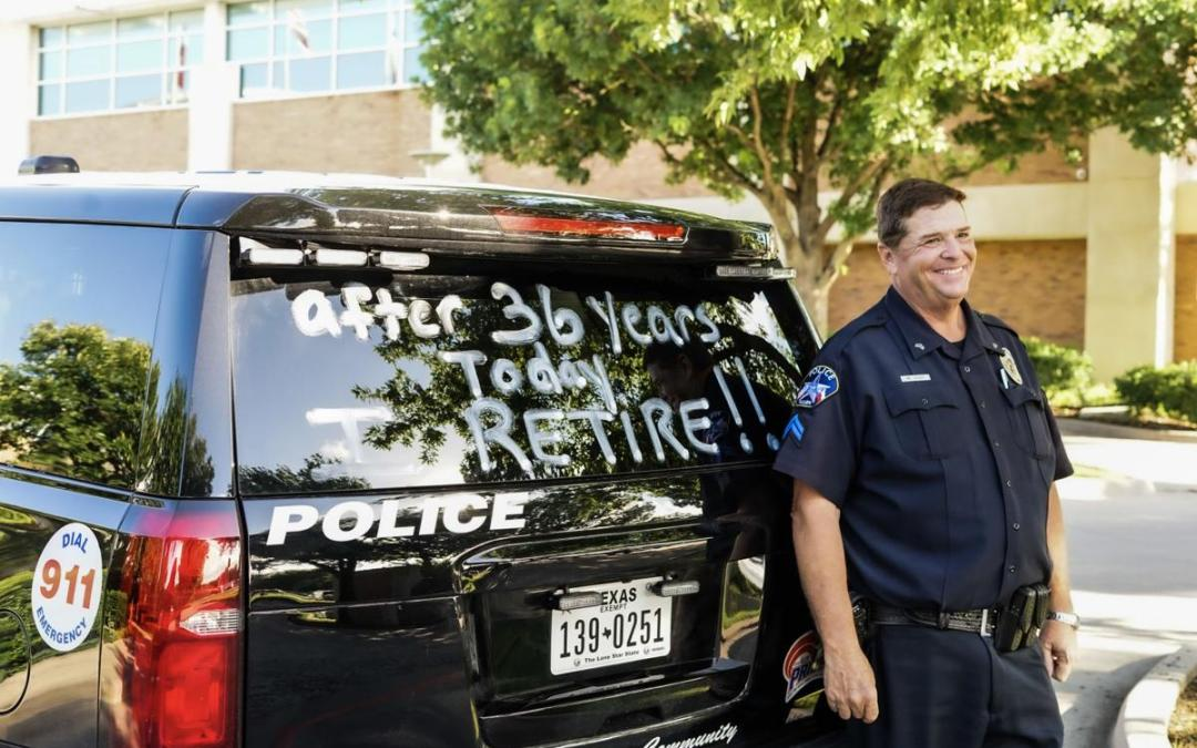 THE GOLDEN RULE – Allen officer retires after 36 years, hopes to leave a lasting mark