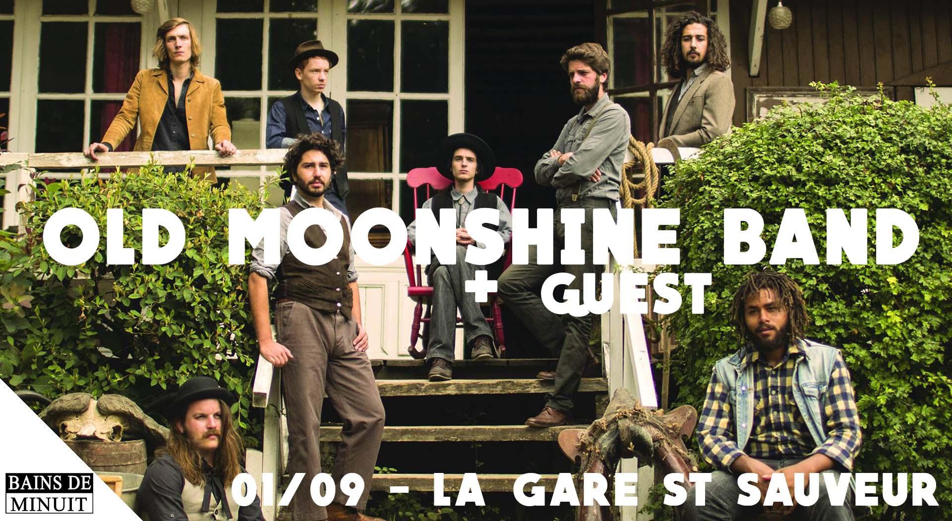 01/09 – OLD MOONSHINE BAND (fr) + The Night Owl News (Lille) / Gare Saint Sauveur, Lille (Gratuit)