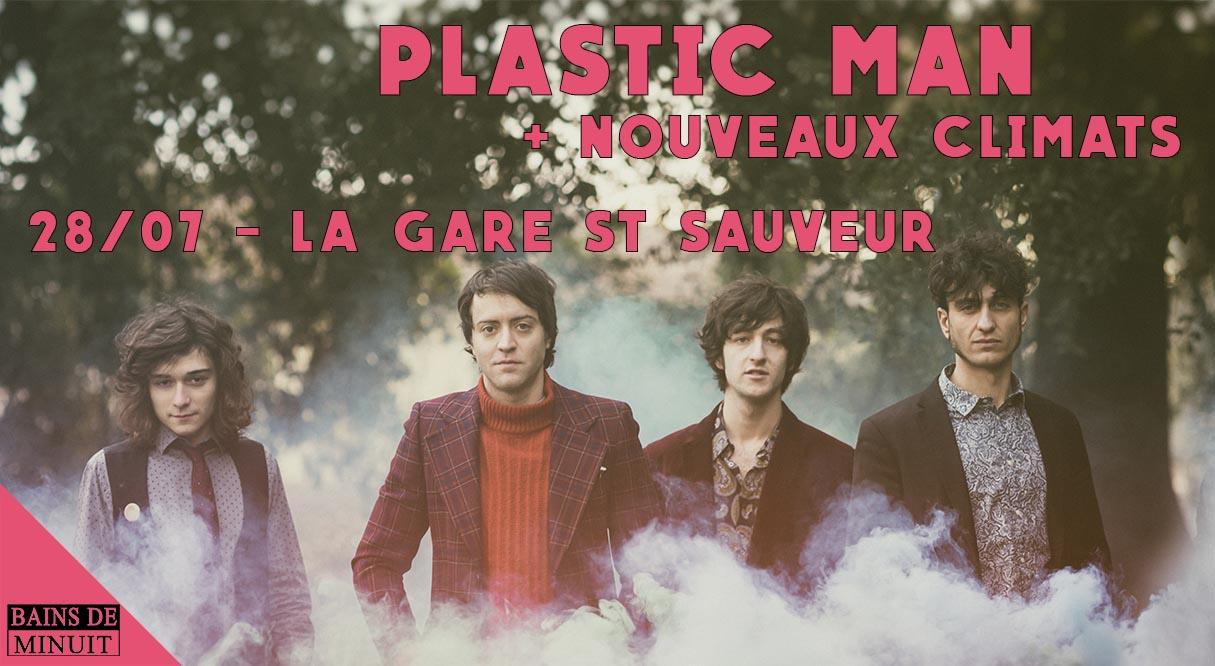 28/07 – PLASTIC MAN (it) + Nouveaux  Climats (Lille) / Gare Saint Sauveur, Lille (Gratuit)