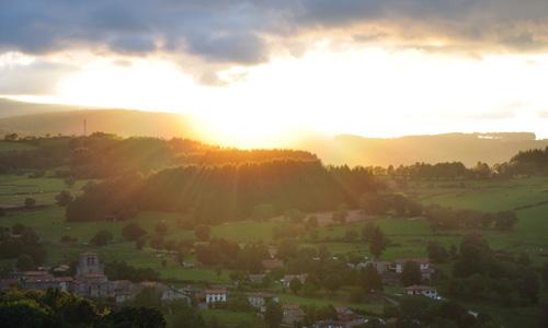 coucher de soleil du saint jean