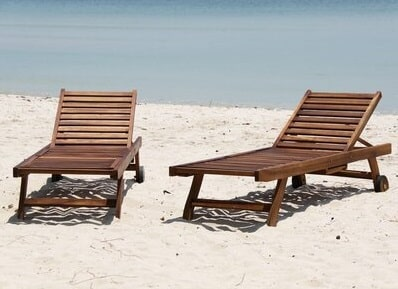 transat bois choisir bain de soleil