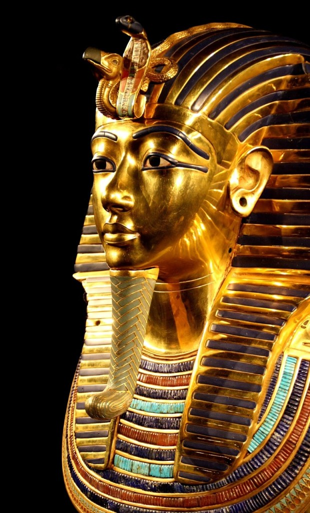 tutankhamun, death mask, pharaonic