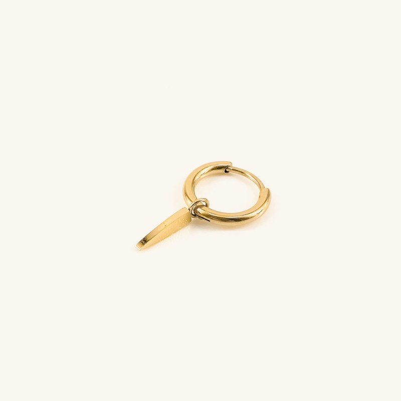 Gold plated earring pendant jewelry