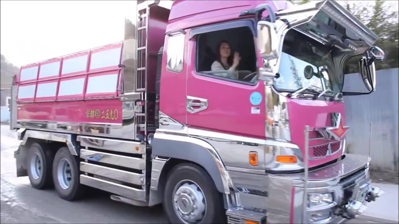 Caminhão No Japão é Assim, Quanta Tecnologia Hein, Confira
