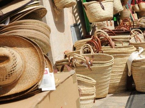 Traditionelle Korbwaren