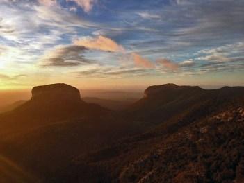 Tramuntana Gebirge im Morgengrauen