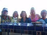 Pat, Catharine, Cathy, Cynthia & Martin