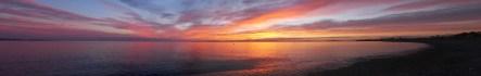 Sunrise, Sea of Cortez, December 31, 2010