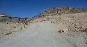 Cones Mark the Highway