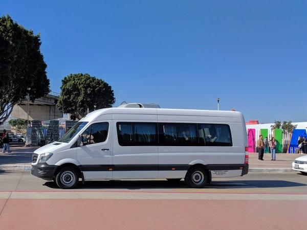 19 Passenger Van for Transportation Service in Tijuana