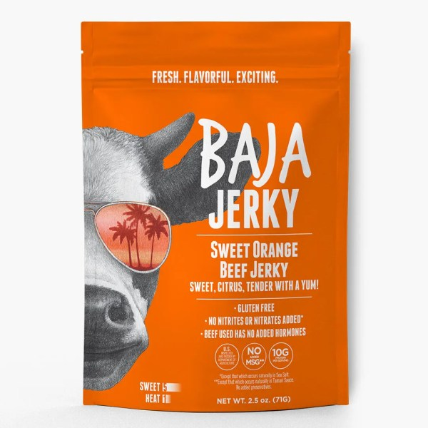 Sweet Orange Beef Jerky Baja Jerky