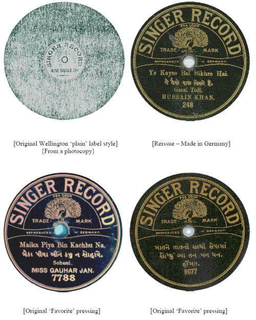Singer Record