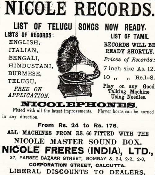 Nicole Records, Advertisement
