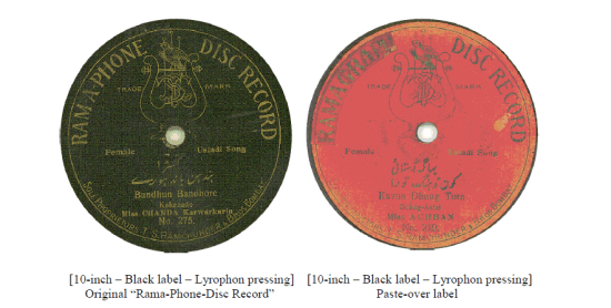 Ram-a-Phone DiscRecord, Ramagraph Disc Record