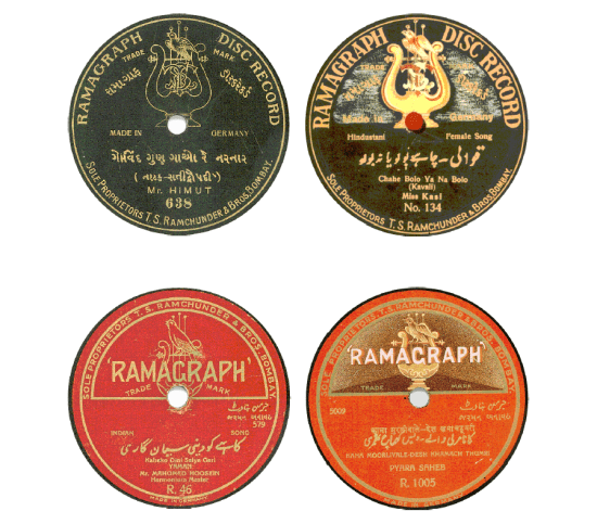 Ramagraph Disc Record, Ramagraph