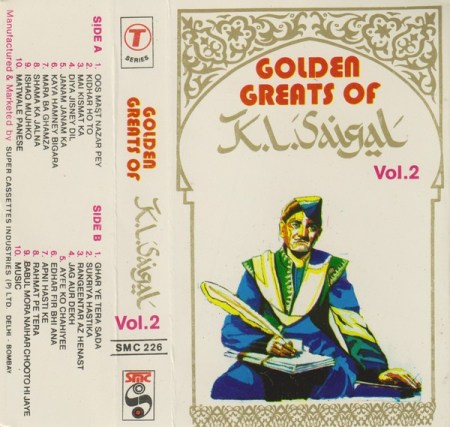 Golden Greats of K.L. Saigal, Vol. 2 Cassette