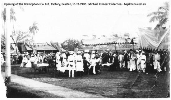 The Gramophone Co. Ltd., Factory, Sealdah, 18-12-1908