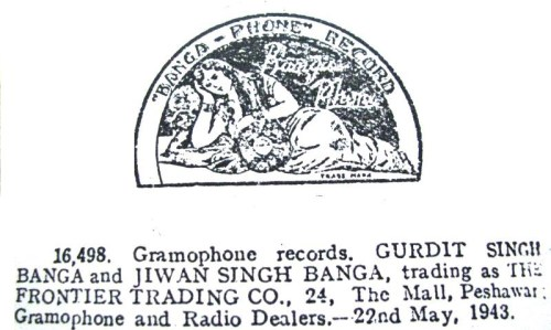 Banga-Phone Record - Trademark