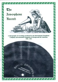 The Zonophone Record - A Discography