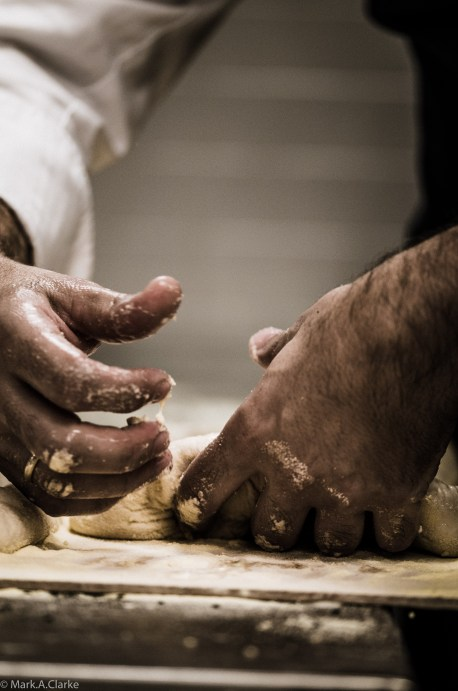 A bakers' hands 2
