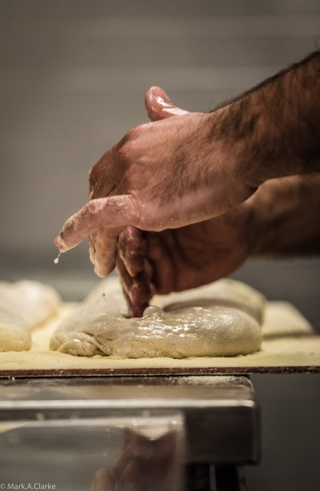 A bakers' hands_