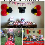 Minnie Mouse oh Twodles DIY Birthday Party